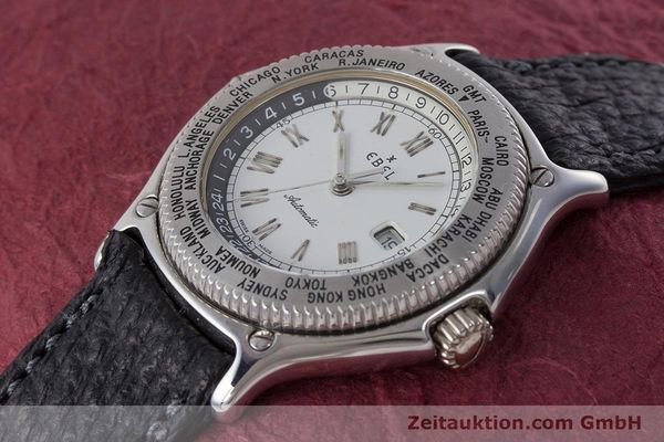 Used luxury watch Ebel Voyager steel automatic Kal. 124 ETA 2892A2 Ref. 9124913  | 161088 01
