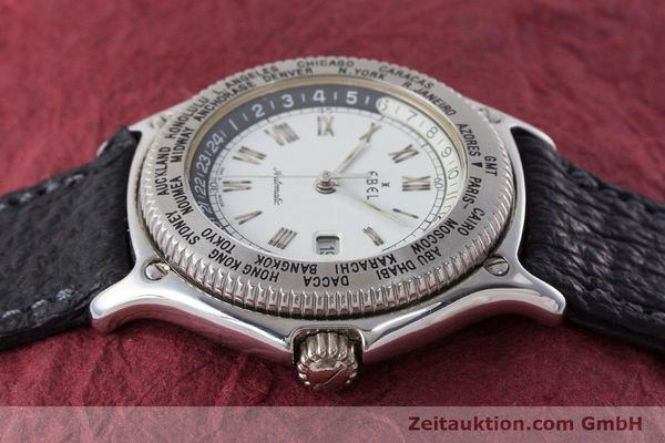 Used luxury watch Ebel Voyager steel automatic Kal. 124 ETA 2892A2 Ref. 9124913  | 161088 05