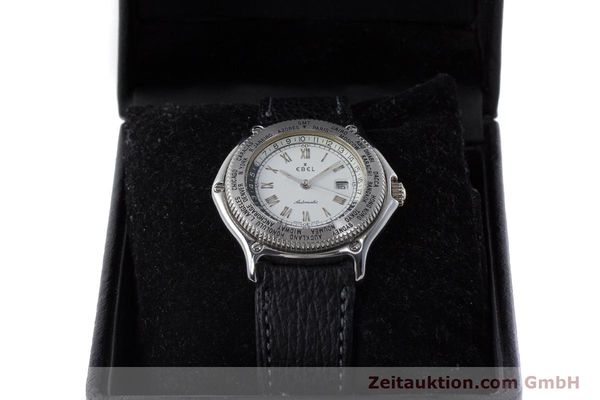 Used luxury watch Ebel Voyager steel automatic Kal. 124 ETA 2892A2 Ref. 9124913  | 161088 07