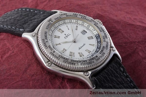 Used luxury watch Ebel Voyager steel automatic Kal. 124 ETA 2892A2 Ref. 9124913  | 161088 13