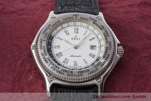 Used luxury watch Ebel Voyager steel automatic Kal. 124 ETA 2892A2 Ref. 9124913  | 161088 14