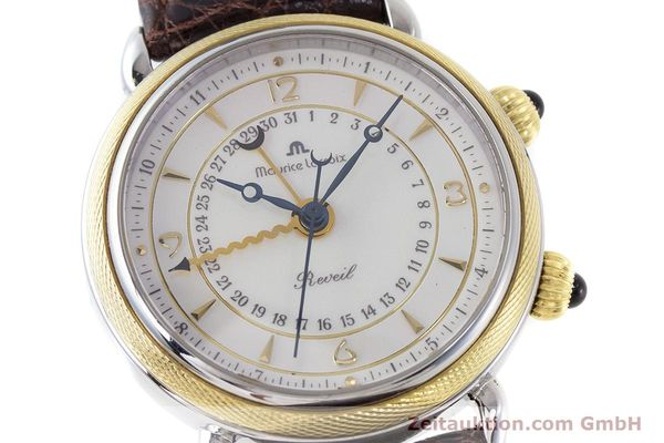 Used luxury watch Maurice Lacroix Reveil steel / gold manual winding Kal. AS 1930 Ref. 63511  | 161091 02