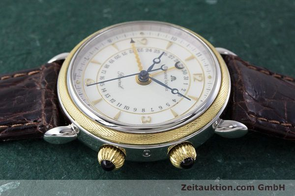 Used luxury watch Maurice Lacroix Reveil steel / gold manual winding Kal. AS 1930 Ref. 63511  | 161091 05