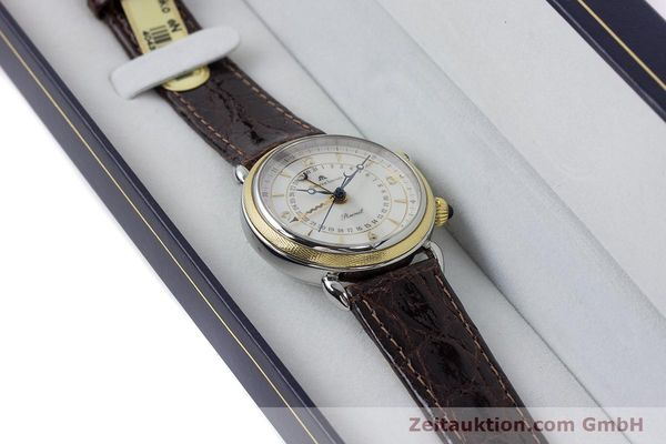 Used luxury watch Maurice Lacroix Reveil steel / gold manual winding Kal. AS 1930 Ref. 63511  | 161091 07
