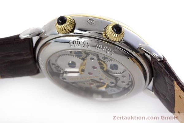 Used luxury watch Maurice Lacroix Reveil steel / gold manual winding Kal. AS 1930 Ref. 63511  | 161091 08