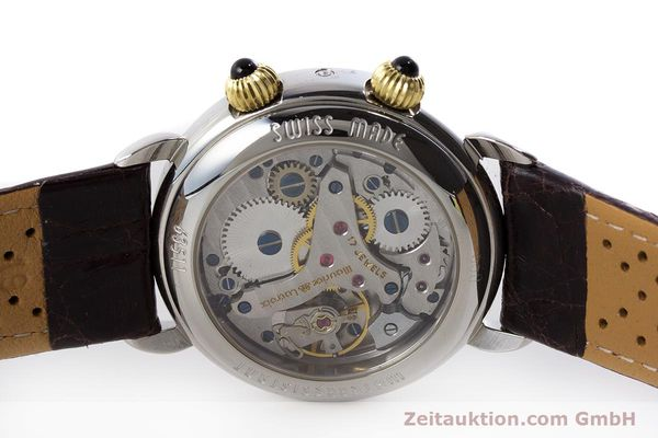Used luxury watch Maurice Lacroix Reveil steel / gold manual winding Kal. AS 1930 Ref. 63511  | 161091 09