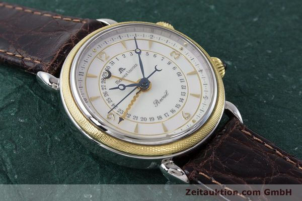 Used luxury watch Maurice Lacroix Reveil steel / gold manual winding Kal. AS 1930 Ref. 63511  | 161091 12