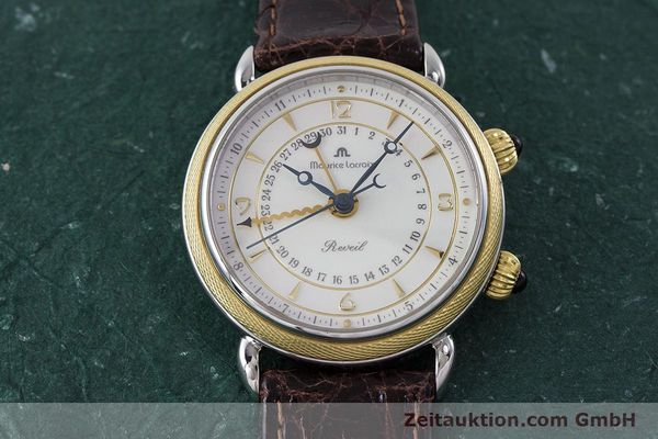 Used luxury watch Maurice Lacroix Reveil steel / gold manual winding Kal. AS 1930 Ref. 63511  | 161091 13