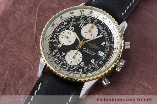 Used luxury watch Breitling Navitimer chronograph steel / gold automatic Kal. B13 ETA 7750 Ref. B13019  | 161093 01