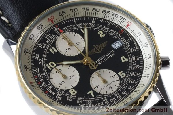 Used luxury watch Breitling Navitimer chronograph steel / gold automatic Kal. B13 ETA 7750 Ref. B13019  | 161093 02