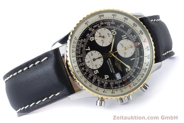 Used luxury watch Breitling Navitimer chronograph steel / gold automatic Kal. B13 ETA 7750 Ref. B13019  | 161093 03