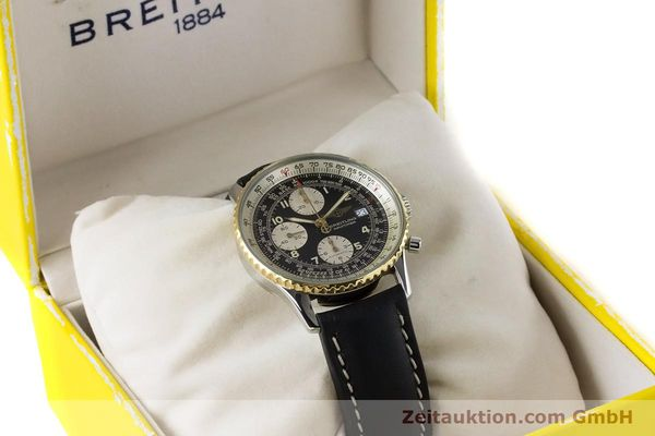 Used luxury watch Breitling Navitimer chronograph steel / gold automatic Kal. B13 ETA 7750 Ref. B13019  | 161093 07