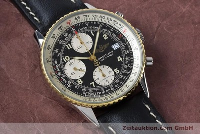 BREITLING NAVITIMER CHRONOGRAPH STEEL / GOLD AUTOMATIC KAL. B13 ETA 7750 [161093]