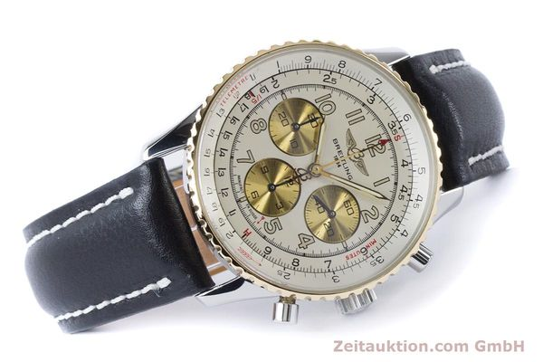 Used luxury watch Breitling Navitimer chronograph steel / gold automatic Kal. B30 ETA 2892A2 Ref. D30022  | 161095 03