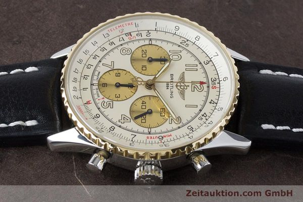 Used luxury watch Breitling Navitimer chronograph steel / gold automatic Kal. B30 ETA 2892A2 Ref. D30022  | 161095 05