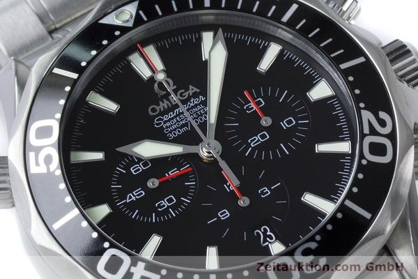 Used luxury watch Omega Seamaster chronograph steel automatic Kal. 3301 Ref. 25945200  | 161097 02