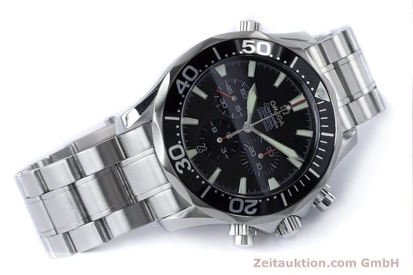 Used luxury watch Omega Seamaster chronograph steel automatic Kal. 3301 Ref. 25945200  | 161097 03