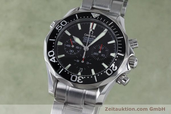 OMEGA SEAMASTER CHRONOGRAPH STEEL AUTOMATIC KAL. 3301 LP: 4800EUR [161097]