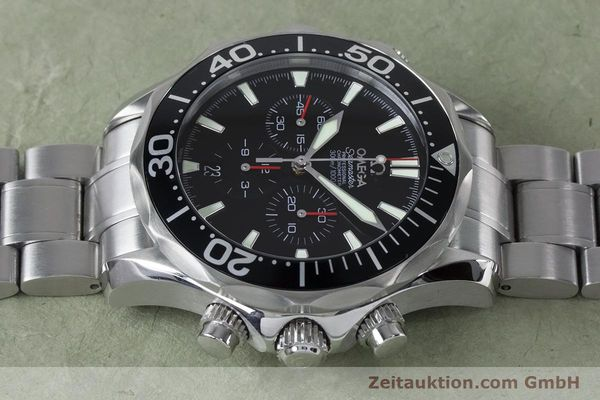 Used luxury watch Omega Seamaster chronograph steel automatic Kal. 3301 Ref. 25945200  | 161097 05