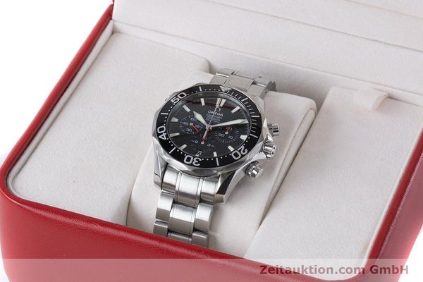 Used luxury watch Omega Seamaster chronograph steel automatic Kal. 3301 Ref. 25945200  | 161097 07