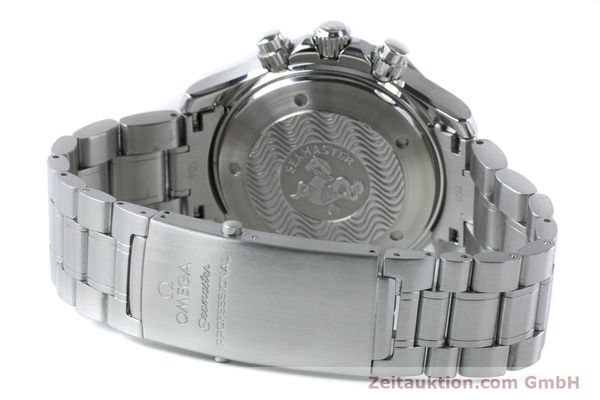 Used luxury watch Omega Seamaster chronograph steel automatic Kal. 3301 Ref. 25945200  | 161097 12