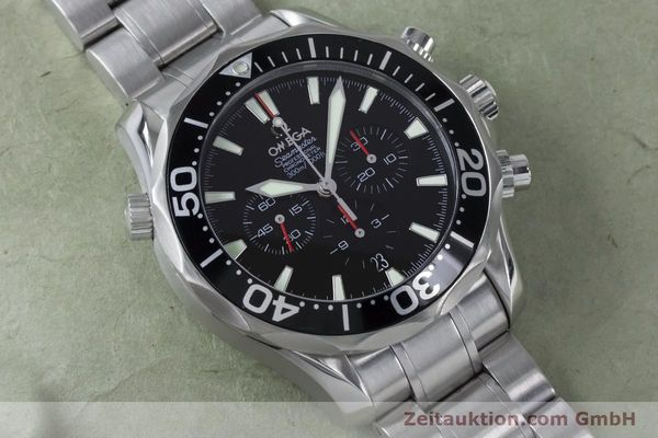 Used luxury watch Omega Seamaster chronograph steel automatic Kal. 3301 Ref. 25945200  | 161097 16