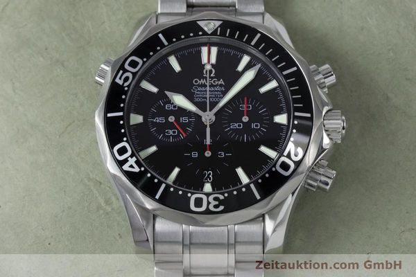 Used luxury watch Omega Seamaster chronograph steel automatic Kal. 3301 Ref. 25945200  | 161097 17