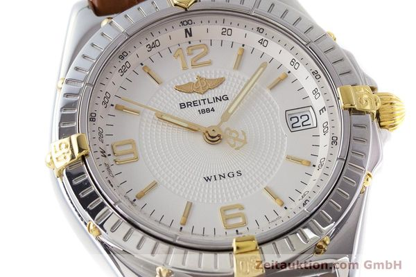 Used luxury watch Breitling Wings steel / gold automatic Kal. B10 ETA 2892A2 Ref. B10050  | 161098 02