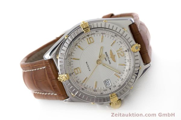 Used luxury watch Breitling Wings steel / gold automatic Kal. B10 ETA 2892A2 Ref. B10050  | 161098 03