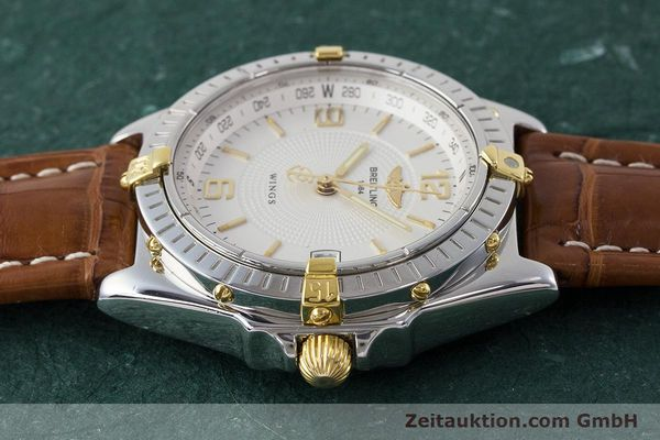 Used luxury watch Breitling Wings steel / gold automatic Kal. B10 ETA 2892A2 Ref. B10050  | 161098 05
