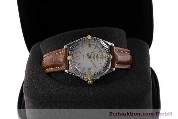Used luxury watch Breitling Wings steel / gold automatic Kal. B10 ETA 2892A2 Ref. B10050  | 161098 07