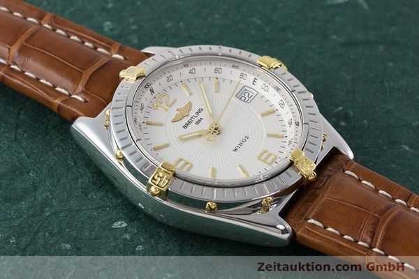 Used luxury watch Breitling Wings steel / gold automatic Kal. B10 ETA 2892A2 Ref. B10050  | 161098 15