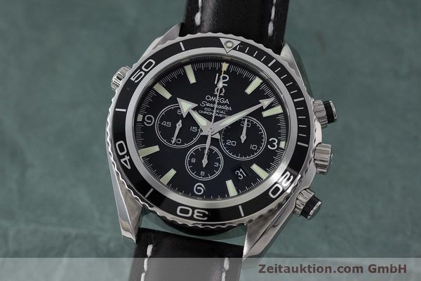 OMEGA SEAMASTER CHRONOGRAPH STEEL AUTOMATIC KAL. 3313 LP: 6400EUR [161099]