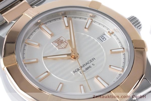 Used luxury watch Tag Heuer Aquaracer steel / gold automatic Kal. 5 Ref. WAP2150  | 161102 02