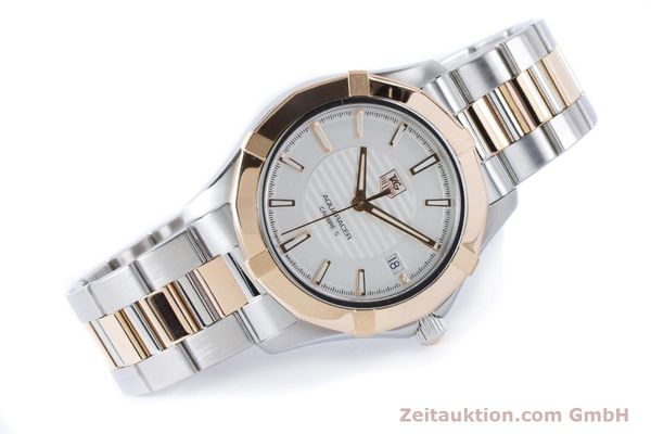 Used luxury watch Tag Heuer Aquaracer steel / gold automatic Kal. 5 Ref. WAP2150  | 161102 03