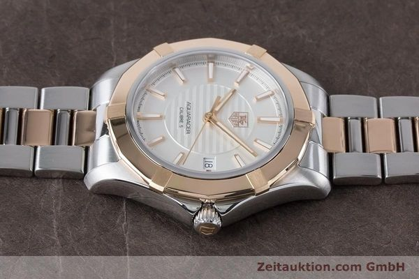 Used luxury watch Tag Heuer Aquaracer steel / gold automatic Kal. 5 Ref. WAP2150  | 161102 05