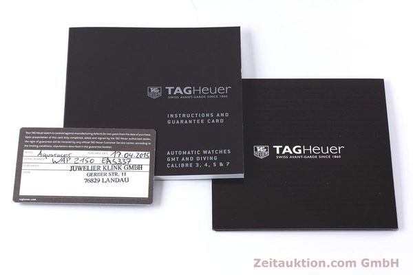 Used luxury watch Tag Heuer Aquaracer steel / gold automatic Kal. 5 Ref. WAP2150  | 161102 12