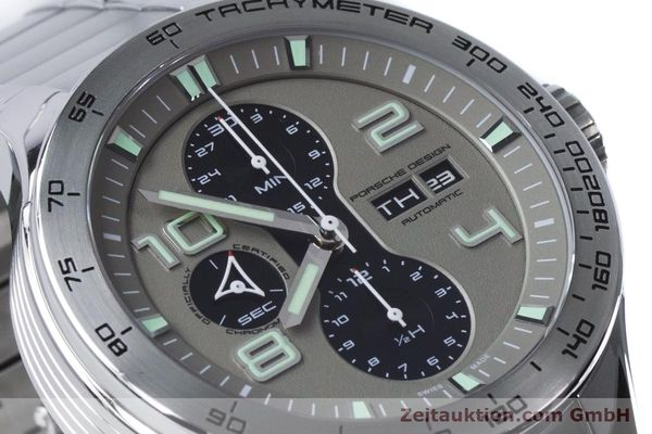 Used luxury watch Porsche Design Dashbord chronograph steel automatic Kal. ETA 7750 Ref. P6340  | 161104 02