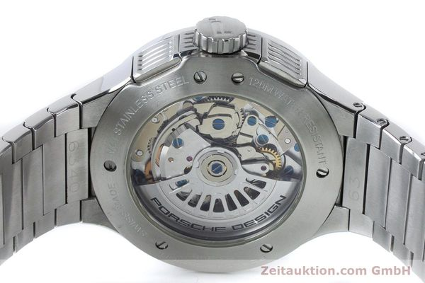 Used luxury watch Porsche Design Dashbord chronograph steel automatic Kal. ETA 7750 Ref. P6340  | 161104 10