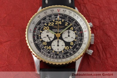 BREITLING NAVITIMER CHRONOGRAPH STEEL / GOLD MANUAL WINDING KAL. LWO 1873 LP: 7000EUR [161105]