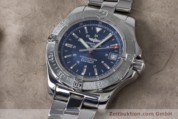Used luxury watch Breitling Colt steel automatic Kal. B17 ETA 2824-2 Ref. A17380  | 161116 01