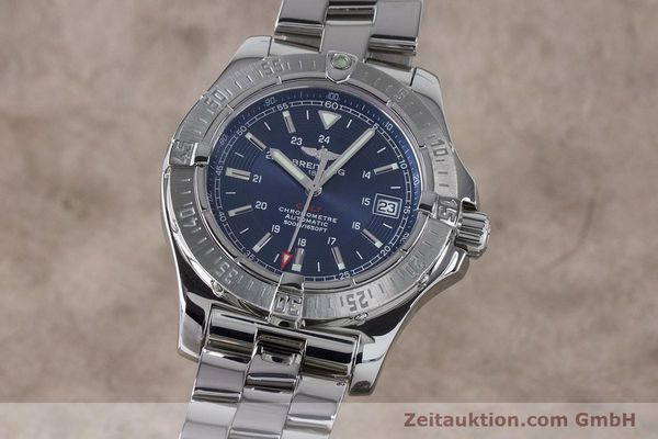Used luxury watch Breitling Colt steel automatic Kal. B17 ETA 2824-2 Ref. A17380  | 161116 04