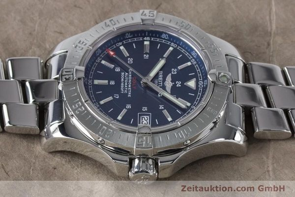 Used luxury watch Breitling Colt steel automatic Kal. B17 ETA 2824-2 Ref. A17380  | 161116 05