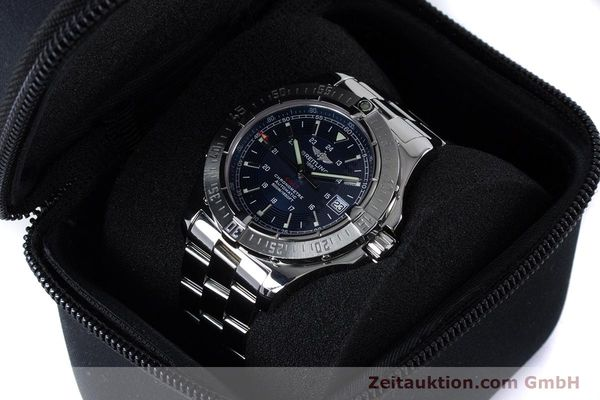 Used luxury watch Breitling Colt steel automatic Kal. B17 ETA 2824-2 Ref. A17380  | 161116 07
