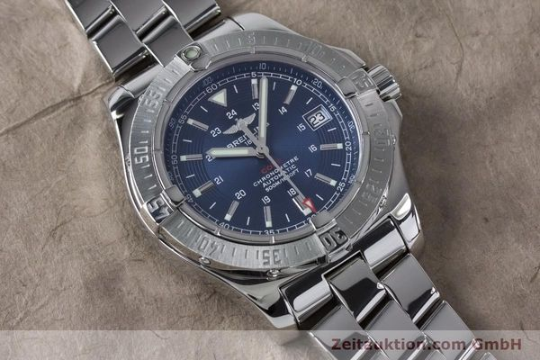 Used luxury watch Breitling Colt steel automatic Kal. B17 ETA 2824-2 Ref. A17380  | 161116 14