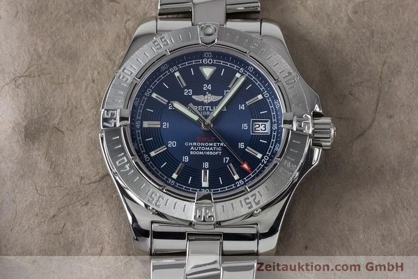 Used luxury watch Breitling Colt steel automatic Kal. B17 ETA 2824-2 Ref. A17380  | 161116 15