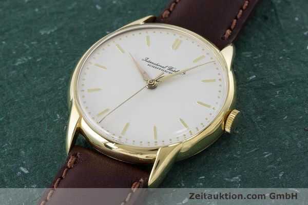Used luxury watch IWC Portofino 18 ct gold manual winding Kal. 89 VINTAGE  | 161119 01