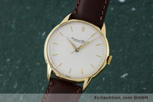Used luxury watch IWC Portofino 18 ct gold manual winding Kal. 89 VINTAGE  | 161119 04