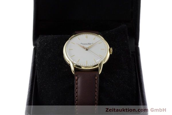 Used luxury watch IWC Portofino 18 ct gold manual winding Kal. 89 VINTAGE  | 161119 07