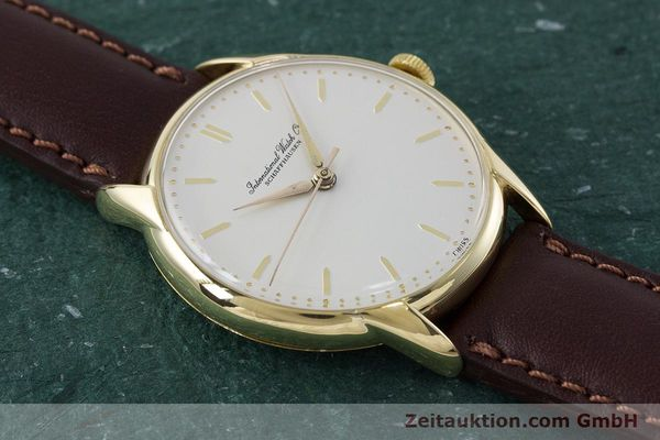 Used luxury watch IWC Portofino 18 ct gold manual winding Kal. 89 VINTAGE  | 161119 13